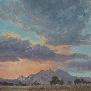 Sunset, Taos Mountain-©JohnFarnsworth