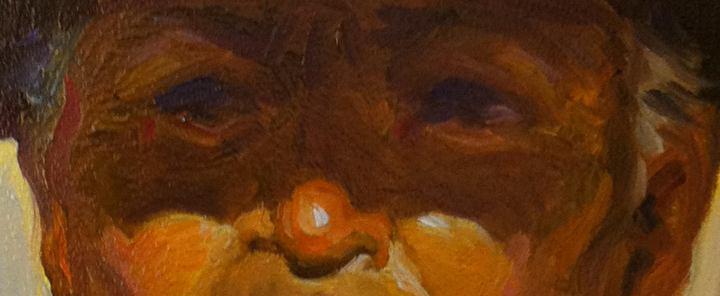 Gaucho (Red Scarf) detail