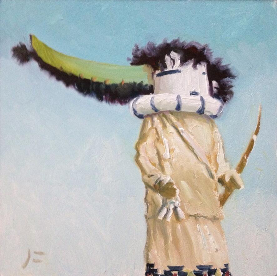 Kachina Oil Paintings