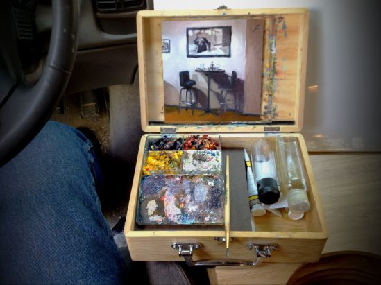 OIL PAINTING GEAR