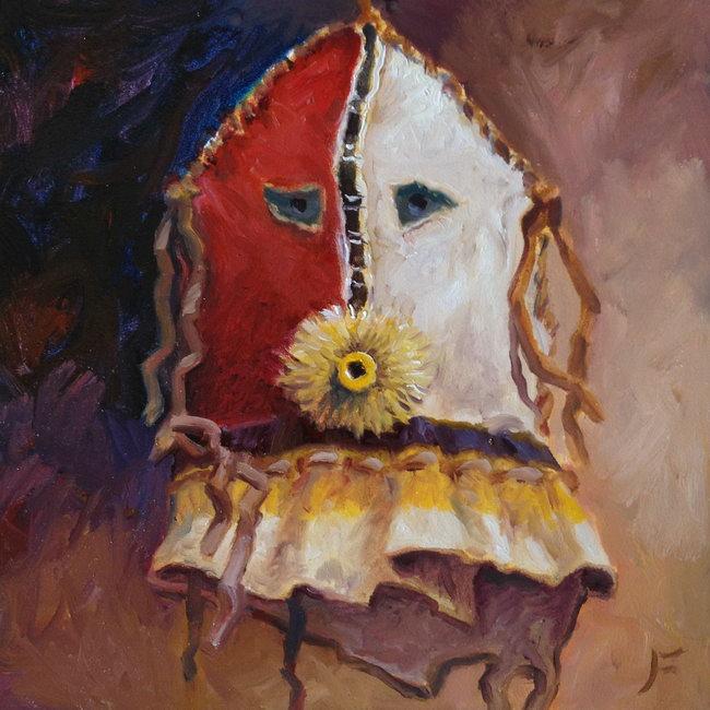 Fringe Mouth (Navajo Yei Mask)