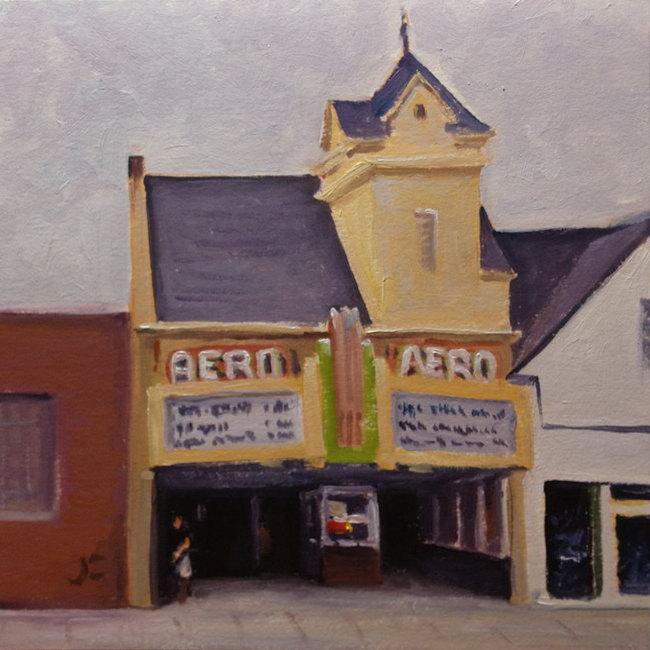 Aero Cinema Daily Painting 763 A Farnsworth A Day