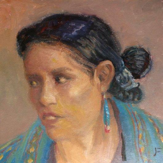 Navajo with Jacla Earring